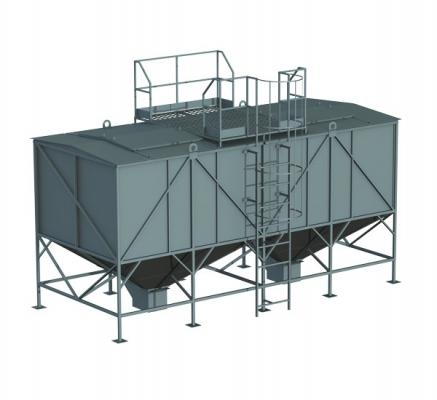 Склад палива для пелет СТ-30
